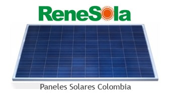 Panel solar precio colombia